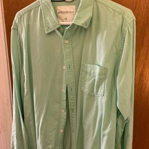 Aeropostale Shirts - Teal colored button down